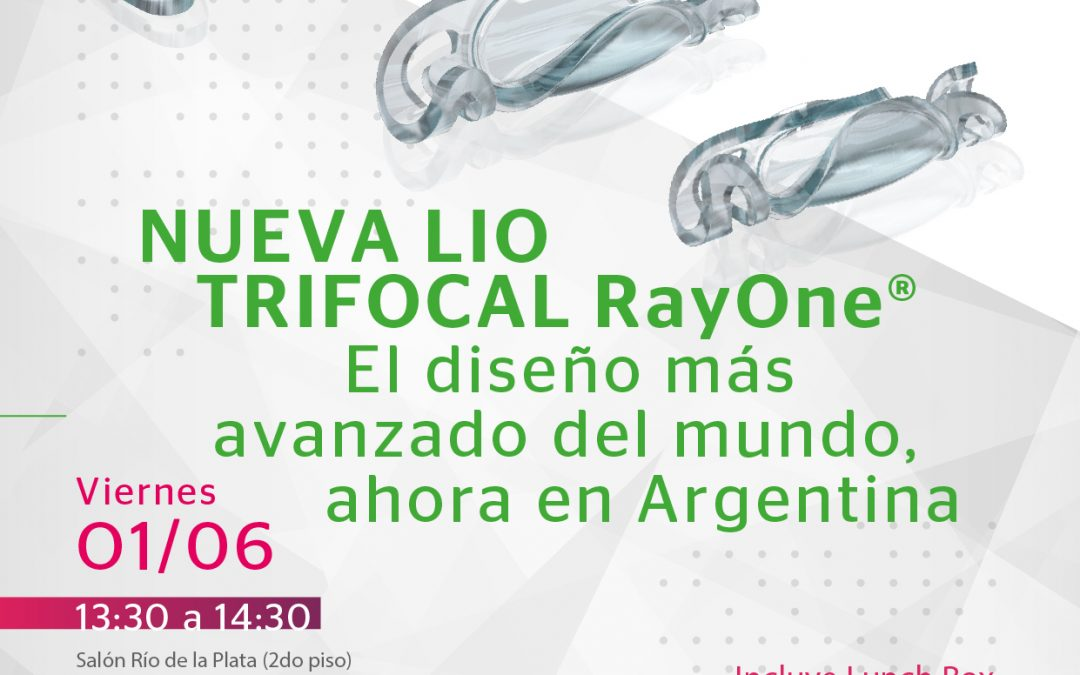 """Simposio CCO: """"Nueva LIO Trifocal RayOne"""""""